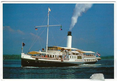 Paddle Steamers & Excursion Vessels