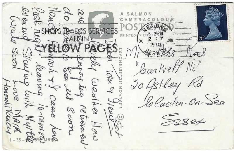 STREATLEY Caversham Lock Reading from 1970-001