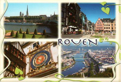 Rouen Seine River Cruise Ship