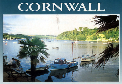Helford River Cornwall from May 2004
