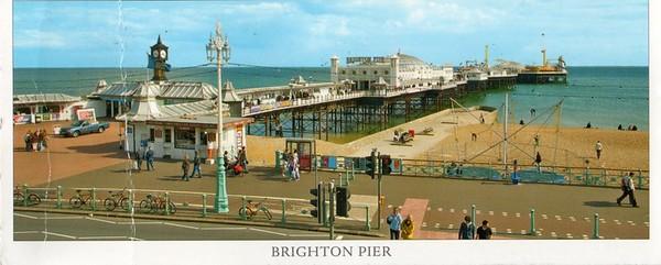 Brighton Pier from 2013