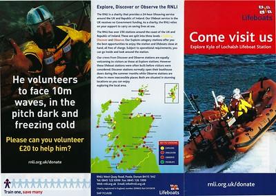 Kyle of Lochalsh Lifeboat Station Leaflet