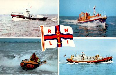 Oakley & Waveney Class Lifeboats more RNLI
