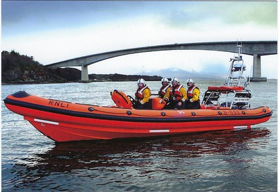 RNLI Spirit of Fred Olsen B-856 Kyle of Lochalsh Atlantic 85 B-Class 2011