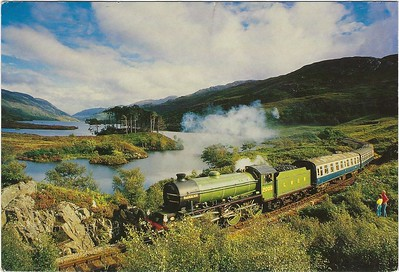 Steam Train Loch Eilt 2000 S&C