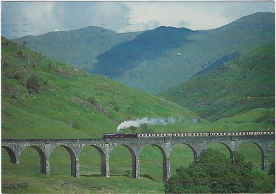 Black Five Glenfinnan Viaduct 2000 S&C