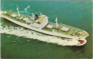 a Clipper Series Reefer maybe EDINBURGH CLIPPER 1972