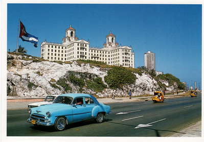 Hotel Nacional de Cuba and Car