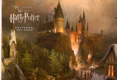 Harry Potter Universal Orlando from 2013