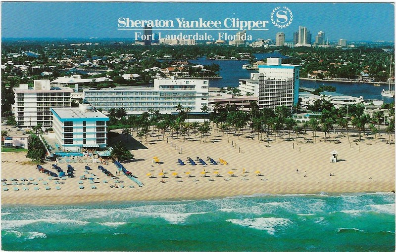Sheraton Yankee Clipper Fort Lauderdale Mar 1997 from Grand Cayman M&D