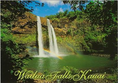 Wailua Falls Kauai Hawai'i