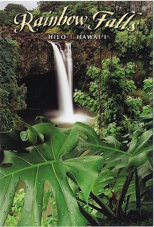 Rainbow Falls Hilo Hawai'i