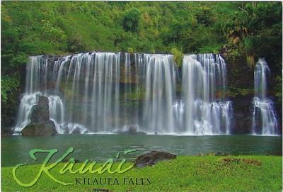 Kilauea Falls Kauai Hawai'i