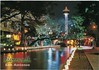 Riverwalk by Night San Antonio Texas from 2005