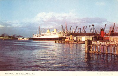 Name Ships Auckland New Zealand