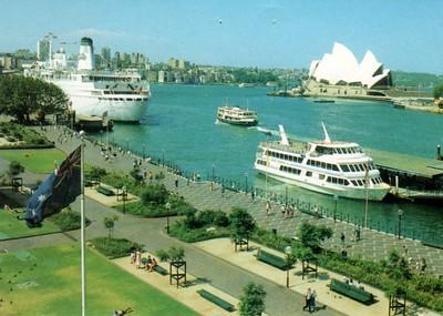 SEA PRINCESS Circular Quay Sydney