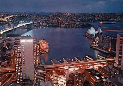 Name Ship Circular Quay Sydney from 1974