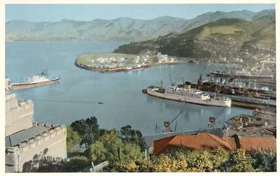 name Ship Lyttleton New Zealand