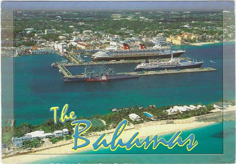 Disney OCEAN BREEZE Warship Nassau Bahamas 2003 JMA