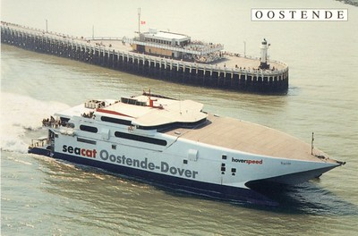 Seacat Rapide Hoverspeed Ostend