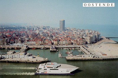 Seacat Rapide Hoverspeed 2000 Ostend