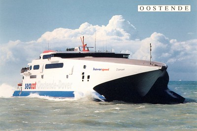 Seacat Diamant - Hoverspeed Ostend