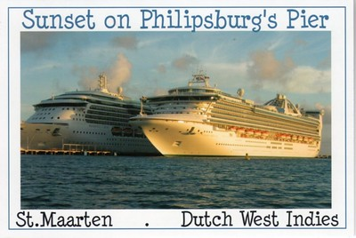 RADIANCE OF THE SEAS GOLDEN PRINCESS Philipsburg St Martin St Maarten