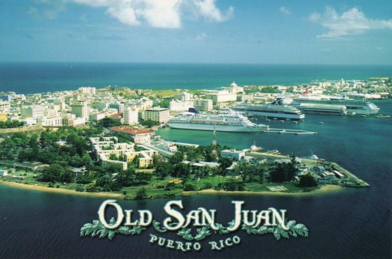 DREAMWARD or WINDWARD & ZENITH or HORIZON with an RCI & CARNIVAL Old San Juan