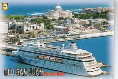 AIDA Old San Juan Puerto Rico