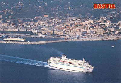 DANIELLE CASANOVA Departing MONTE CINTO Bastia