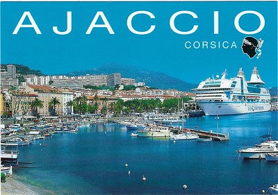 DANIELLE CASANOVA SNCM Ferryterranee Ajaccio Corsica