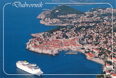 COSTA CLASSICA or ROMANTICA Dubrovnik