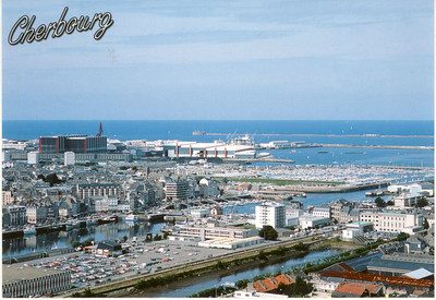 Port of Cherbourg from 2009