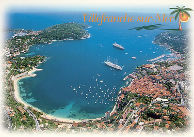CLUB MED II or WIND SURF with who Villefranche