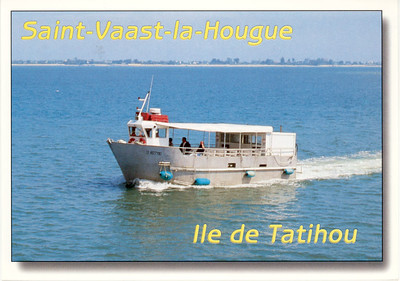 Ferry to Ile de Tatihou from Cherbourg 2009