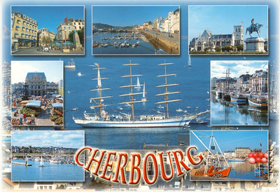 Tall Ship Cherbourg from 2009