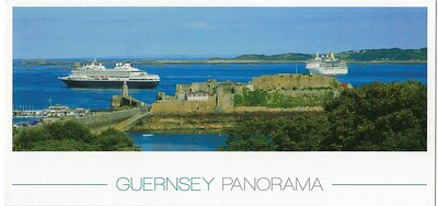 PRINSENDAM ARCADIA Guernsey Panorama
