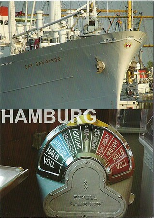 CAP SAN DIEGO & Telegraph Hamburg 2016