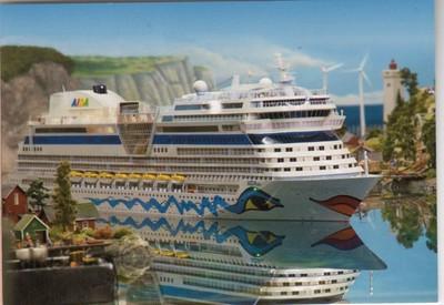 AIDAblu Miniature Wonderland Hamburg