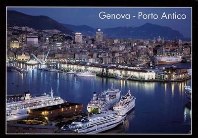 Tirrenia Ferries Grimaldi Vehicles Carrier Genova