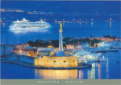 Messina La Madonnina Royal Caribbean Ship