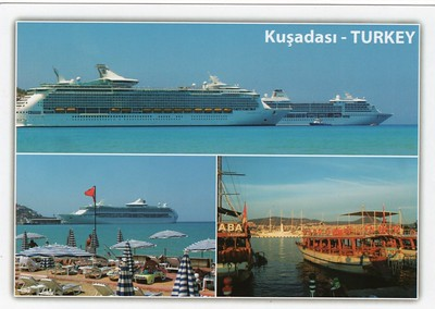 2012 Seven Seas Mariner Navigator of the Seas a Vision Class Windstar Kusadasi