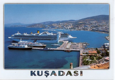 2012 JASON TRITON Samos Star GRAND PRINCESS COSTA ATLANTICA Kusadasi
