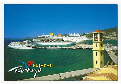 Costa Victoria Royal Viking Sun a Renaissance TV Kusadasi
