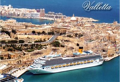 COSTA MAGICA Valletta