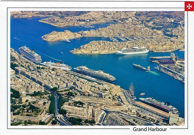 Valletta COSTA VOYAGER Costa MEIN SCHIFF CDF ZENITH or HORIZON RCI Vision Class Tall Ship