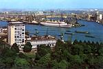 NIEUW AMSTERDAM Rotterdam small card from 1971-001
