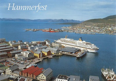 NORDNORGE 1964 EUROPA 1981 Hammerfest-001