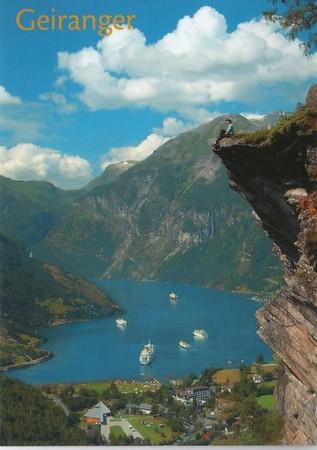 Various Geiranger Norway