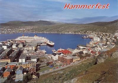 EUROPA 1981 MIDNATSOL Hammerfest